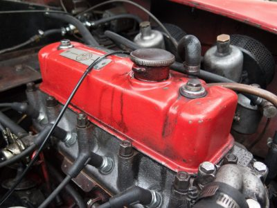 Picture of Red Engine as a Link to the Hoseco Automotive Hose Catalogue
